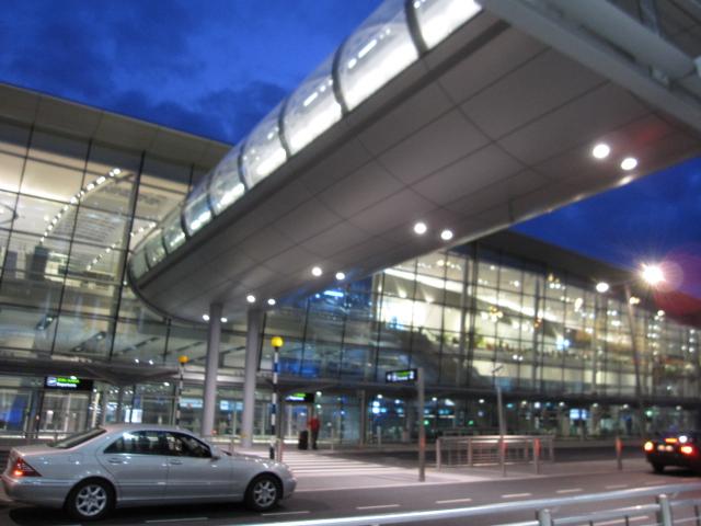 ダブリン空港から市内2