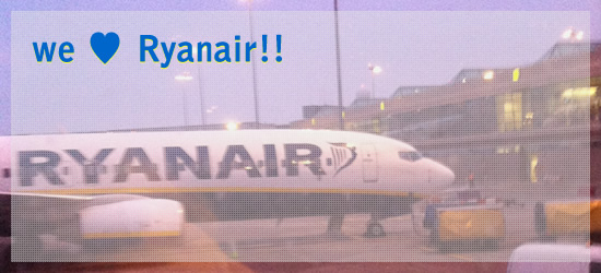 we love Ryanair